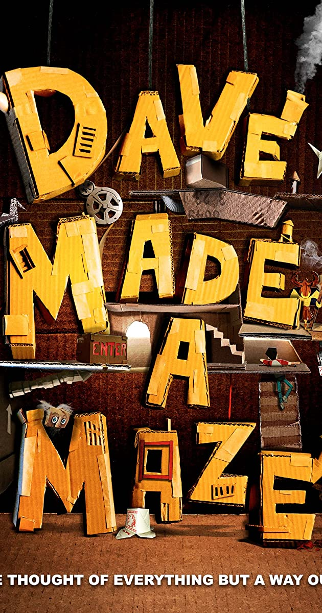 Subtitle of Dave Made a Maze