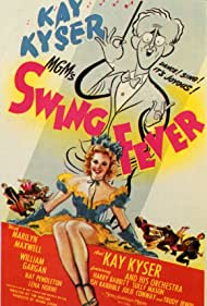 Kay Kyser and Marilyn Maxwell in Swing Fever (1943)