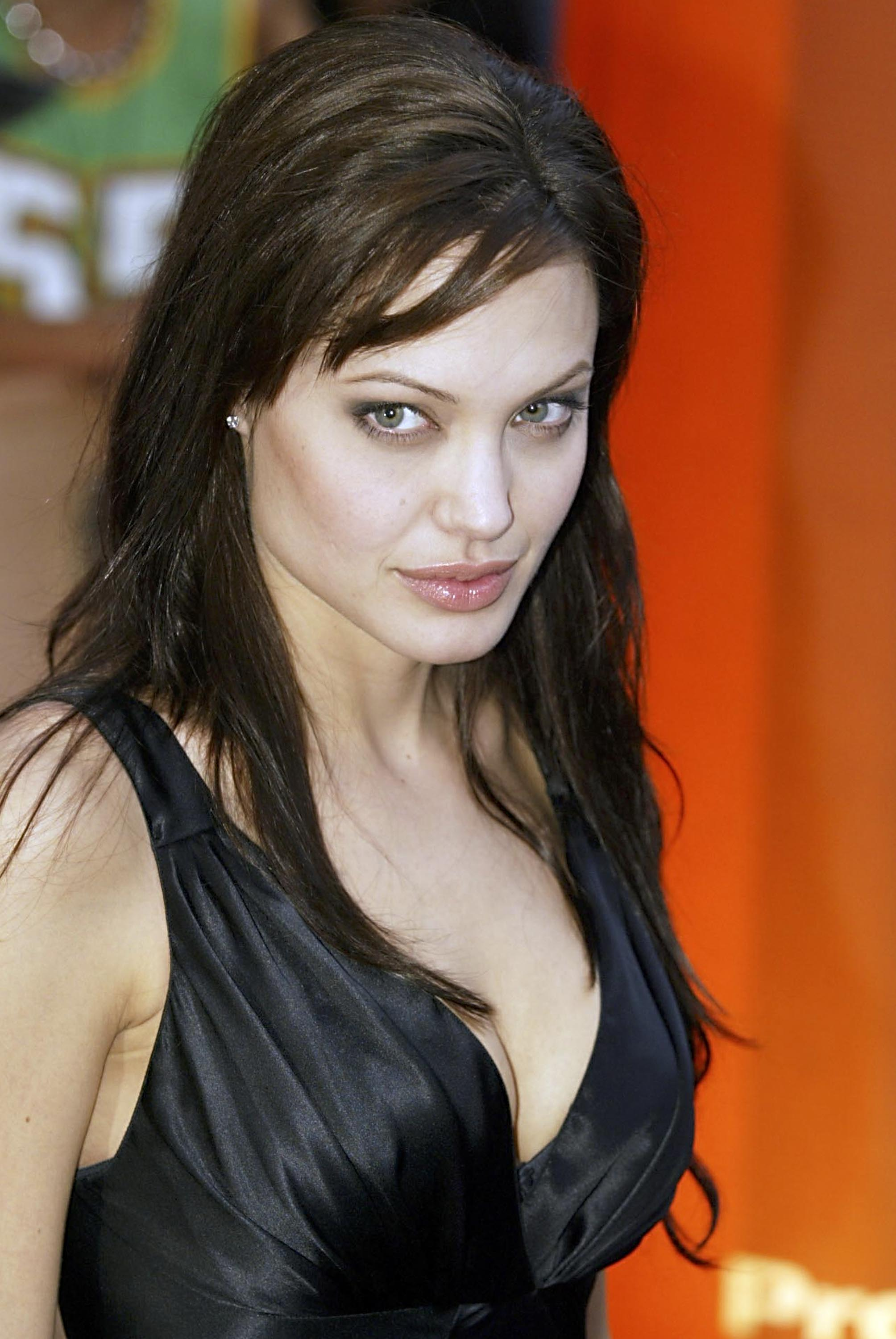 Angelina Jolie at an event for Lara Croft Tomb Raider: The Cradle of Life (2003)