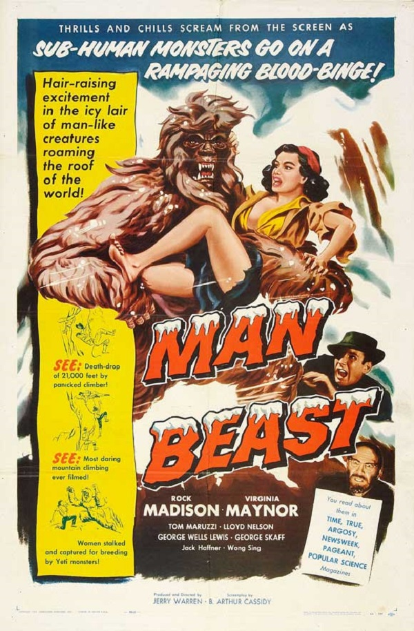 Asa Maynor in Man Beast (1956)
