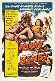 Man Beast (1956) Poster - Movie Forum, Cast, Reviews