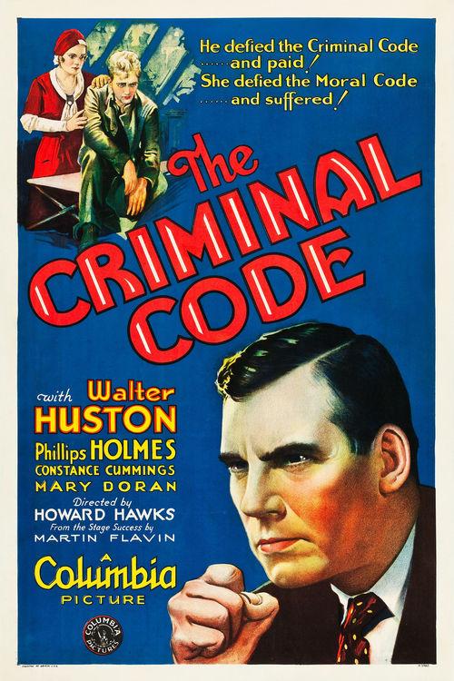 The Criminal Code (1930) - IMDb