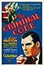 The Criminal Code (1930) Poster