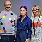 Dominic C. Skinner, Val Garland, and Stacey Dooley in Glow Up: Britain's Next Make-Up Star (2019)