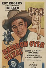 Rainbow Over Texas Poster