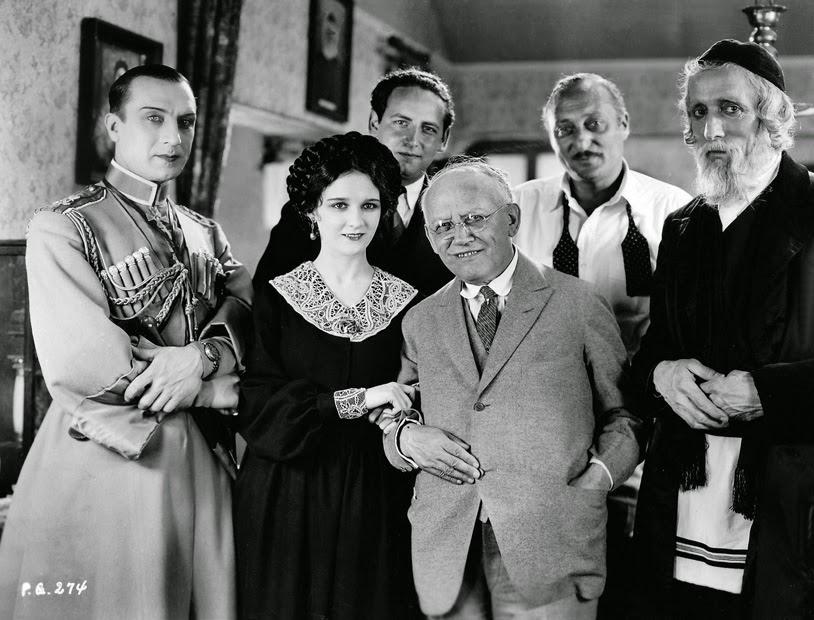 Nigel De Brulier, Carl Laemmle, Ivan Mozzhukhin, Mary Philbin, and Edward Sloman in Surrender (1927)