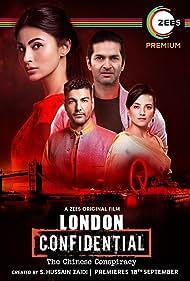 Purab Kohli, Kulraj Randhawa, and Mouni Roy in London Confidential (2020)