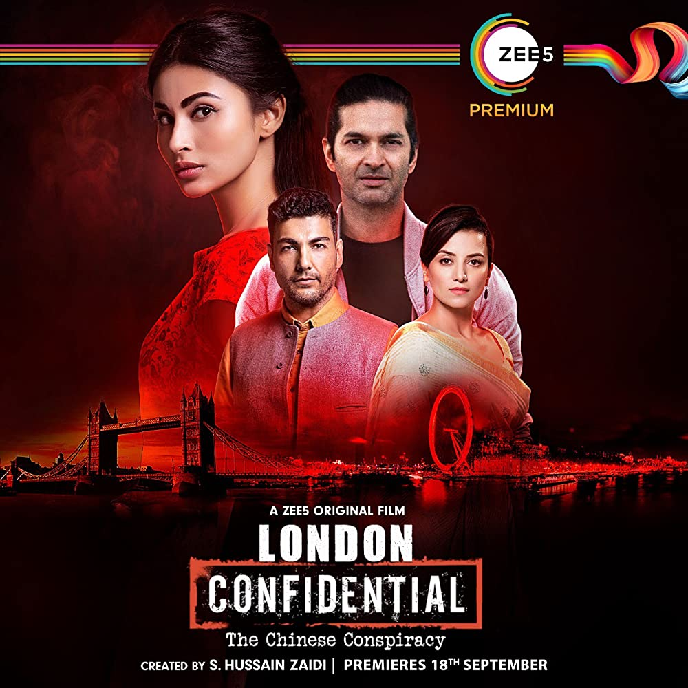 London Confidental (2020) Hindi Movie 480p Zee5 HDRip ESubs 250MB