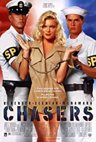 Erika Eleniak, Tom Berenger, and William McNamara in Chasers (1994)