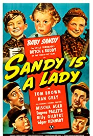 Sandy Is a Lady Poster