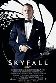 Skyfall Premiere Poster