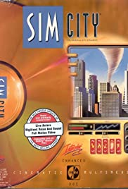 Sim City Enhanced CD-ROM Poster