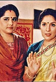 Neena Gupta and Shagufta Ali in Saans (1999)