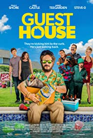 Pauly Shore, Steve-O, Aimee Teegarden, and Mike Castle in Guest House (2020)