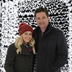 Candace Cameron Bure and Warren Christie in If I Only Had Christmas (2020)