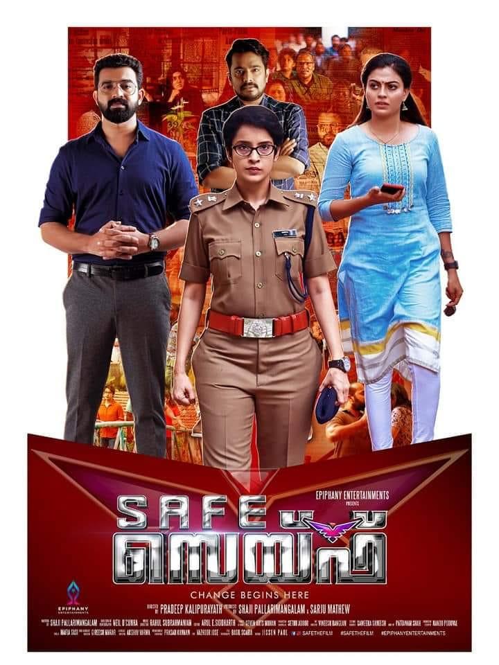 Safe 2019 Malayalam Movie 450MB WEB-DL ESub Download
