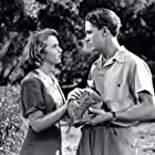Deanna Durbin and Robert Stack in First Love (1939)