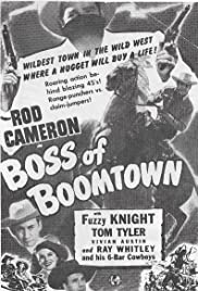 Boss of Boomtown Poster