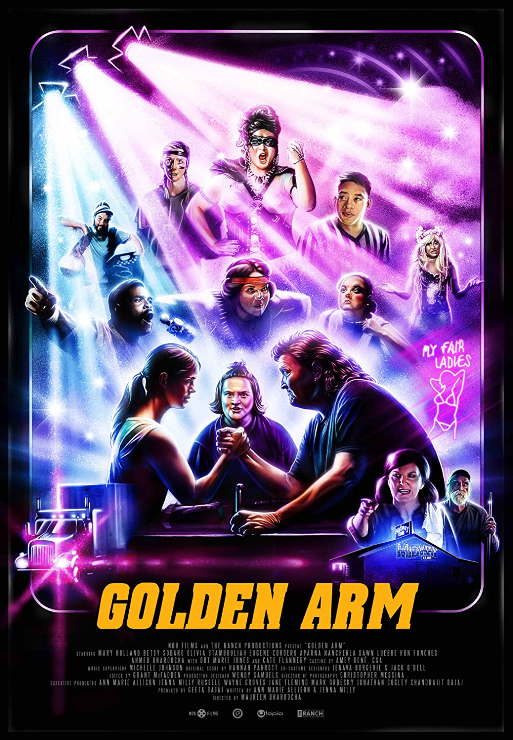 Golden Arm 2021 English 720p HDRip 800MB Download