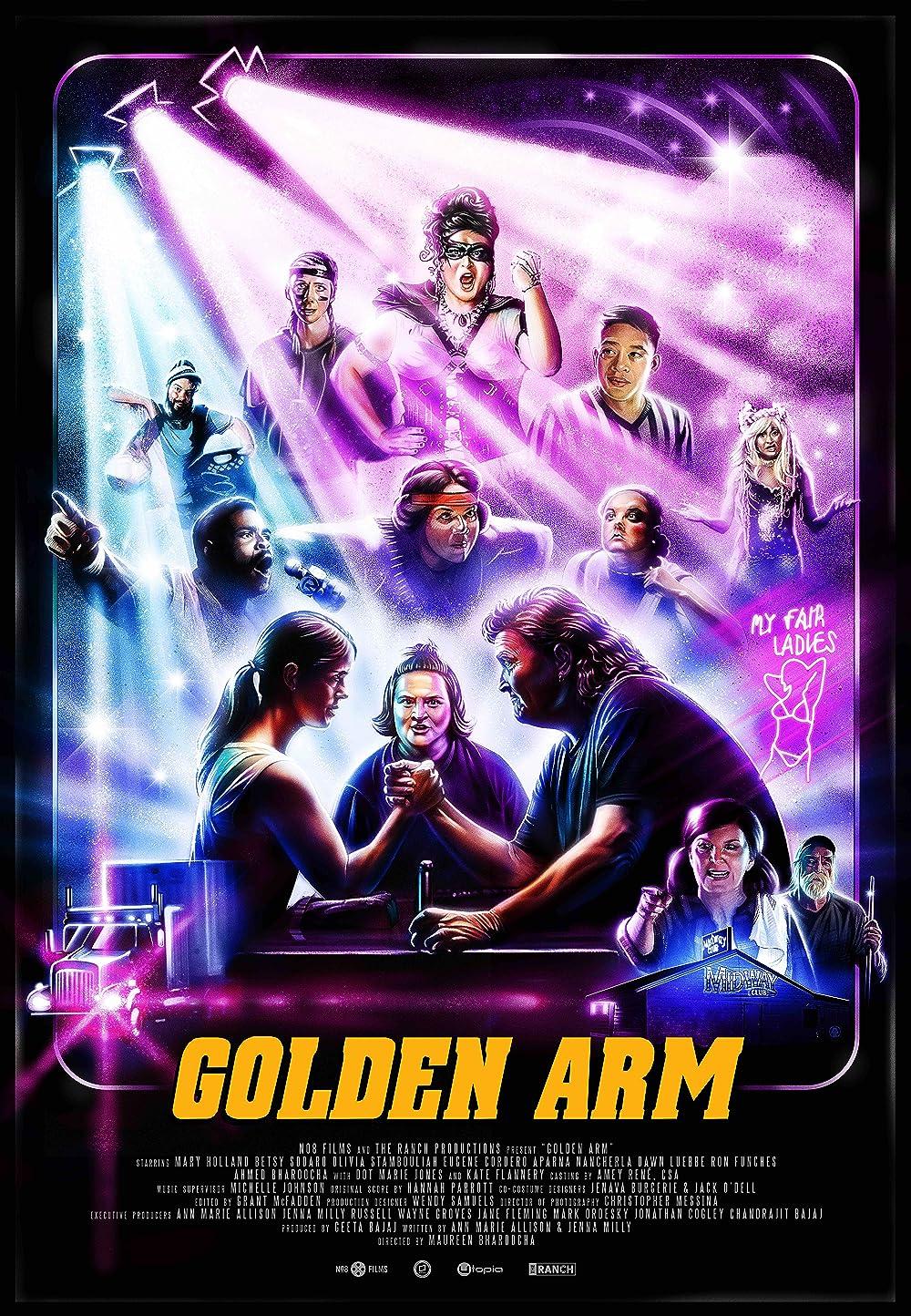 Golden Arm 2021 English 1080p HDRip 1.4GB Download