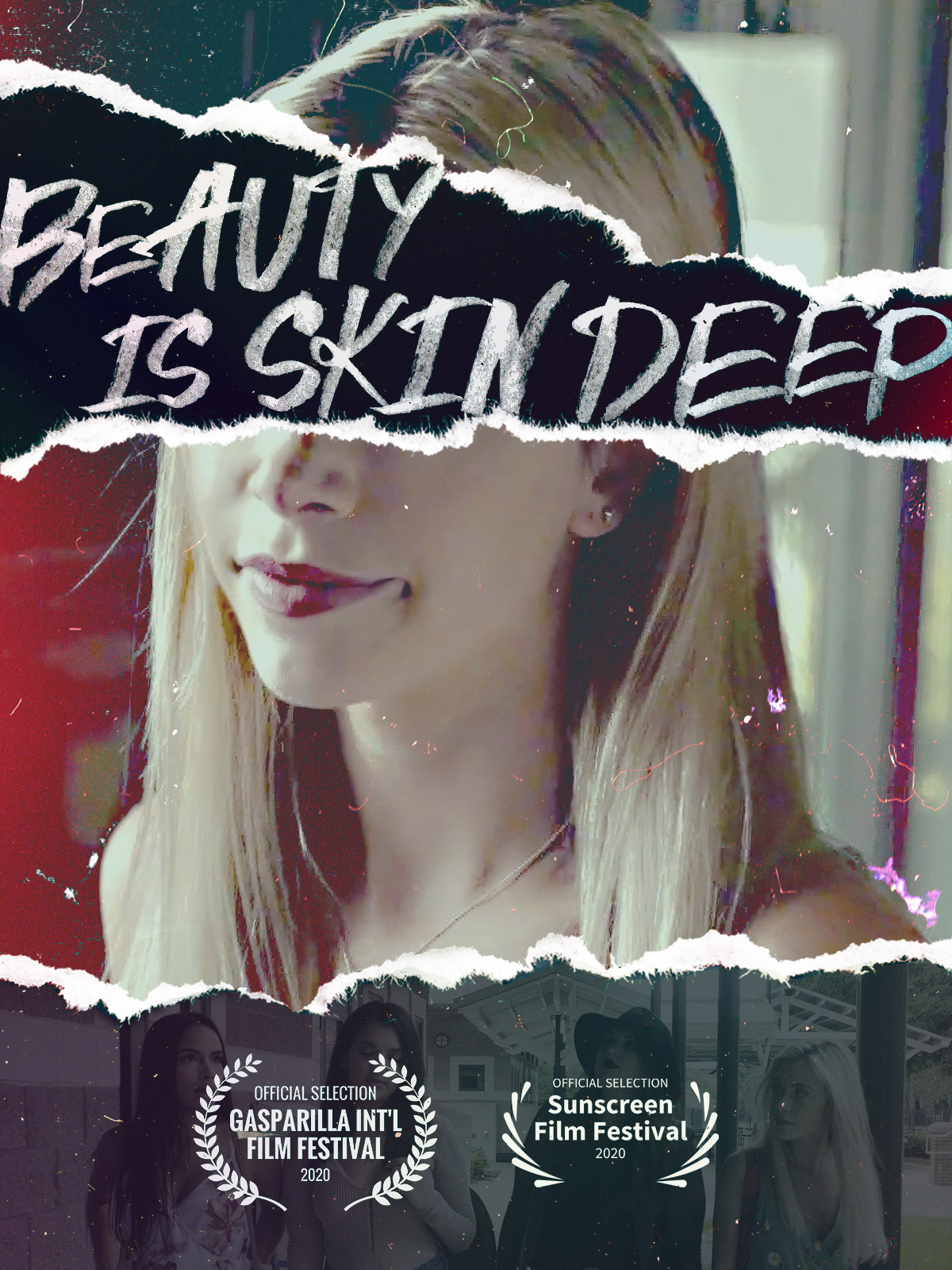 Beauty Is Skin Deep (2021) WebRip 720p Dual Audio [Hindi (Voice Over) Dubbed + English] [Full Movie]