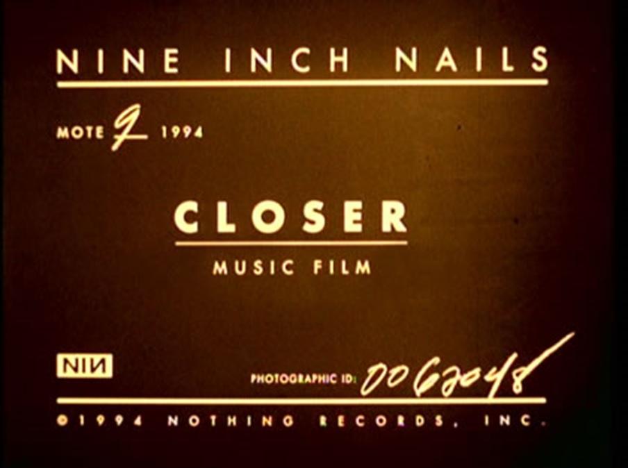 Nine Inch Nails: Closer (1994)