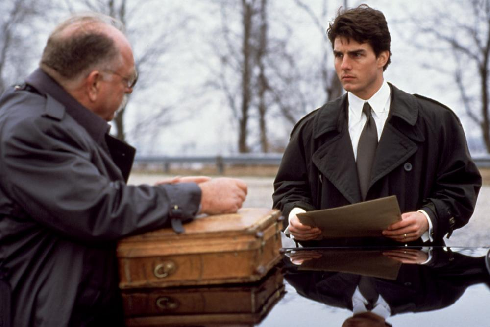 Tom Cruise and Wilford Brimley in The Firm (1993)