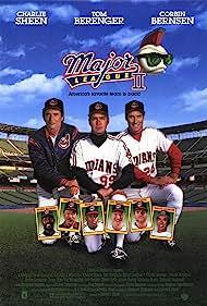 Charlie Sheen, Tom Berenger, and Corbin Bernsen in Major League II (1994)