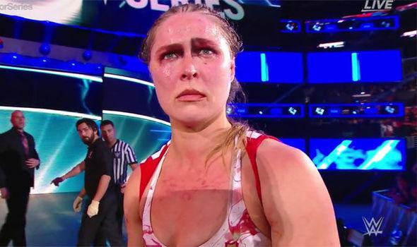 Ronda Rousey in WWE Survivor Series (2018)