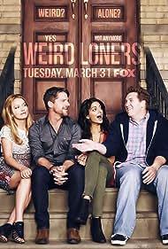 Zachary Knighton, Becki Newton, Nate Torrence, and Meera Rohit Kumbhani in Weird Loners (2015)