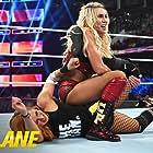 Rebecca Quin and Ashley Fliehr in WWE Fastlane (2019)