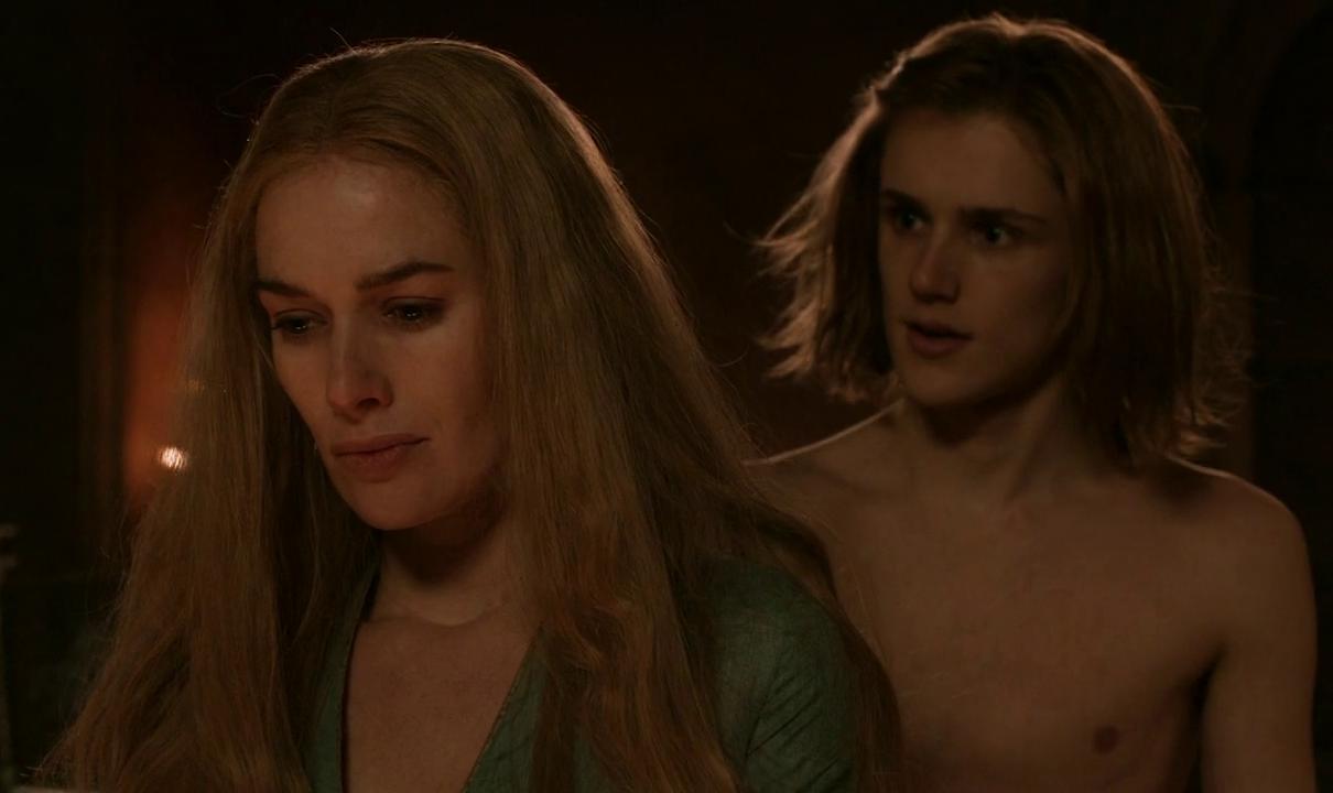 Lena Headey and Eugene Simon in Game of Thrones (2011)