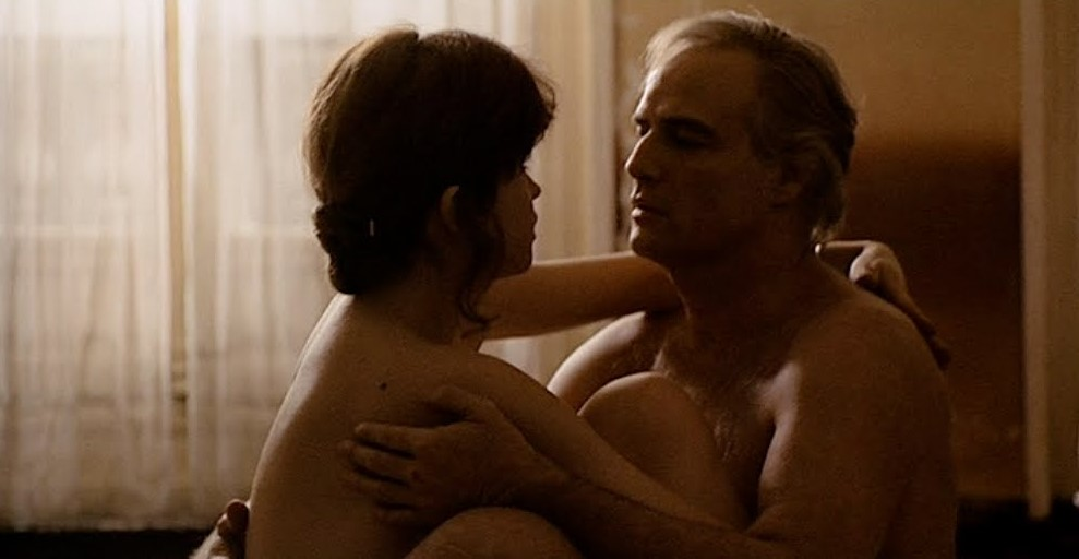 Marlon Brando and Maria Schneider in Ultimo tango a Parigi (1972)