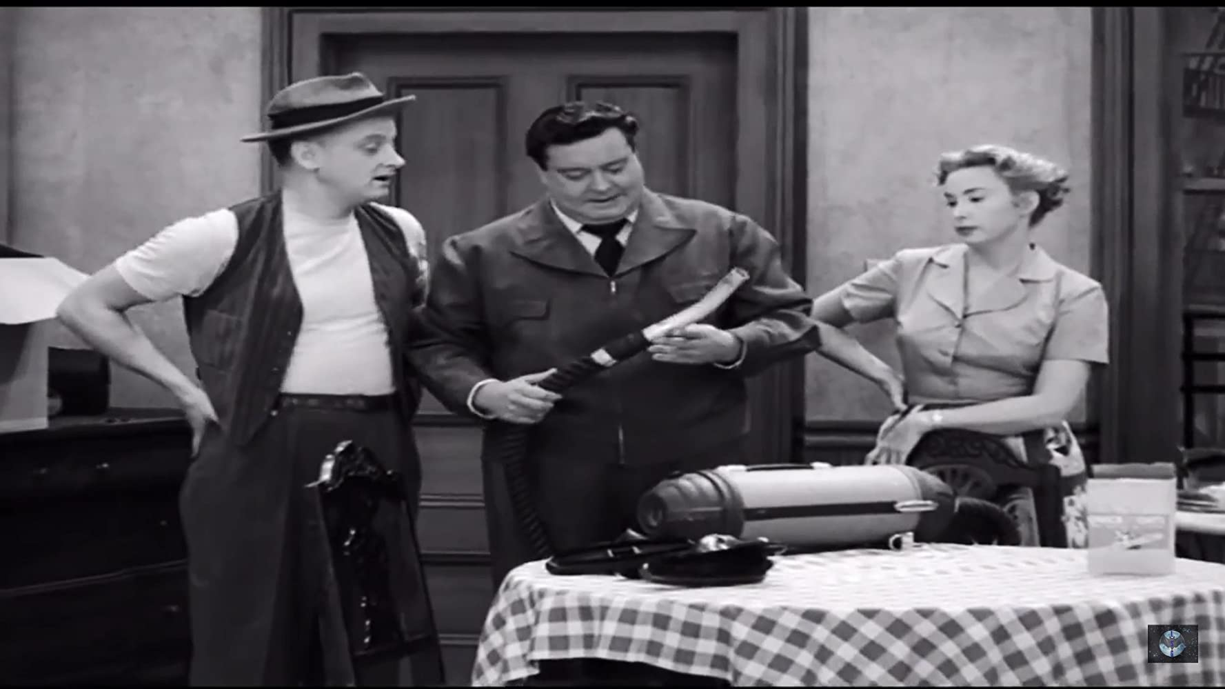 Jackie Gleason Art Carney and Audrey Meadows in The Honeymooners 1955