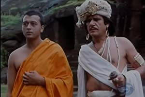 Lucky Ali and Om Puri in Bharat Ek Khoj (1988)