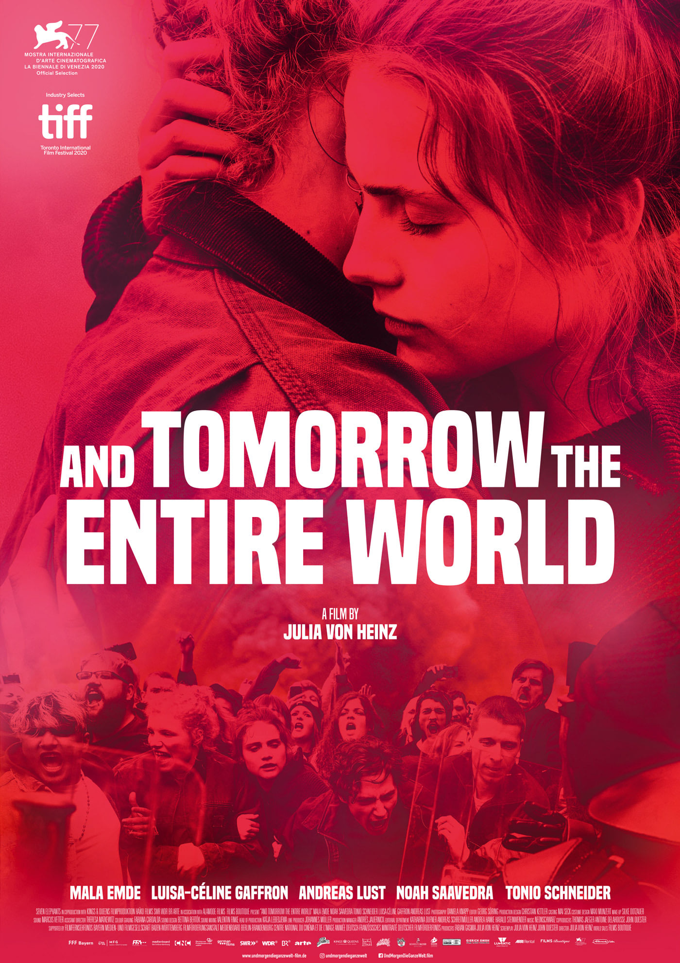 And Tomorrow the Entire World (2020) Telugu Dubbed (Voice Over) & English [Dual Audio] BluRay 720p [1XBET]