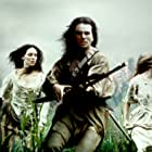 Daniel Day-Lewis, Madeleine Stowe, and Jodhi May in The Last of the Mohicans (1992)