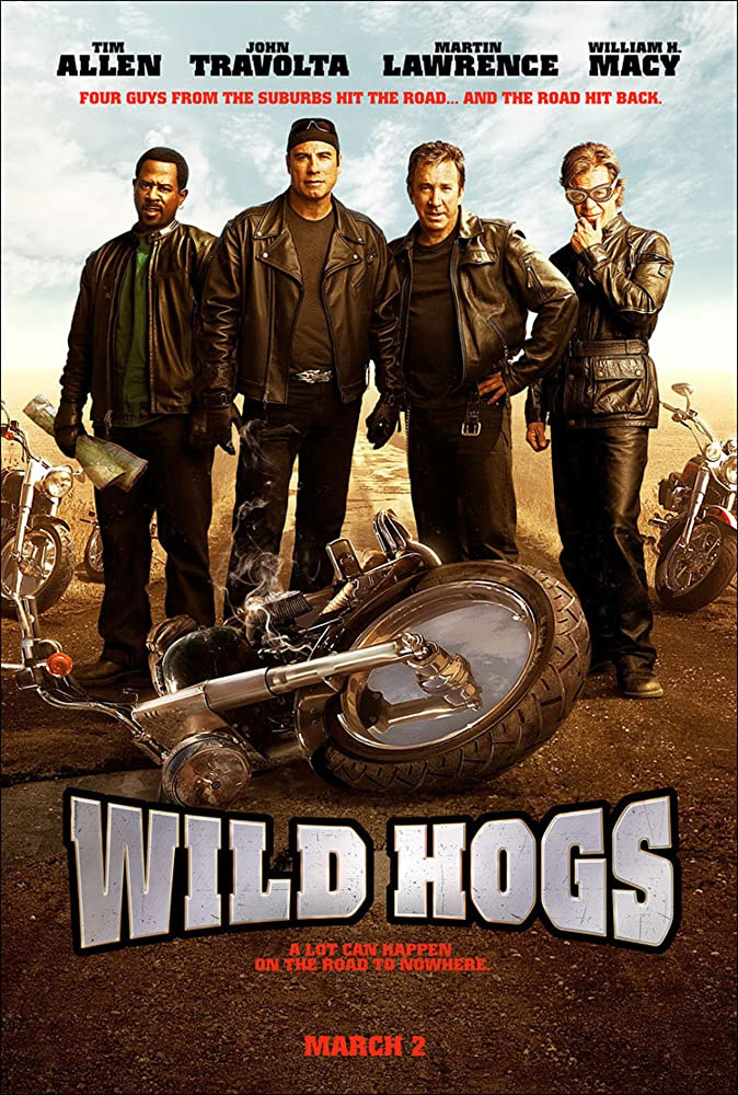 Wild Hogs (2007) Dual Audio [Hindi-English] 720p BluRay Free Download