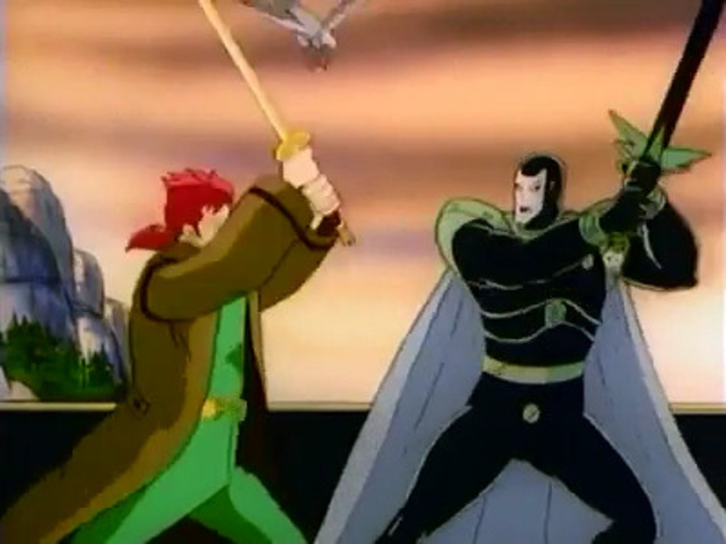 Connor McLeod Vs. Kortan (Highlander The Animated Series)