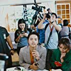 Jun Morden, Kathryn Bernardo, and Daniel Padilla at an event for The Hows of Us (2018)
