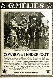 Cowboy vs. Tenderfoot Poster