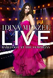 Idina Menzel Live: Barefoot at the Symphony Poster