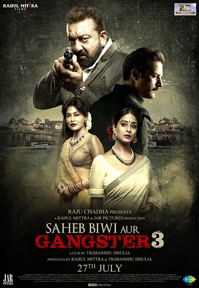 Download Saheb Biwi Aur Gangster 3 2018 Hindi 720p HDRip x264 AAC - Hon3yH Torrent
