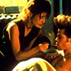 Brad Pitt and Catherine Keener in Johnny Suede (1991)