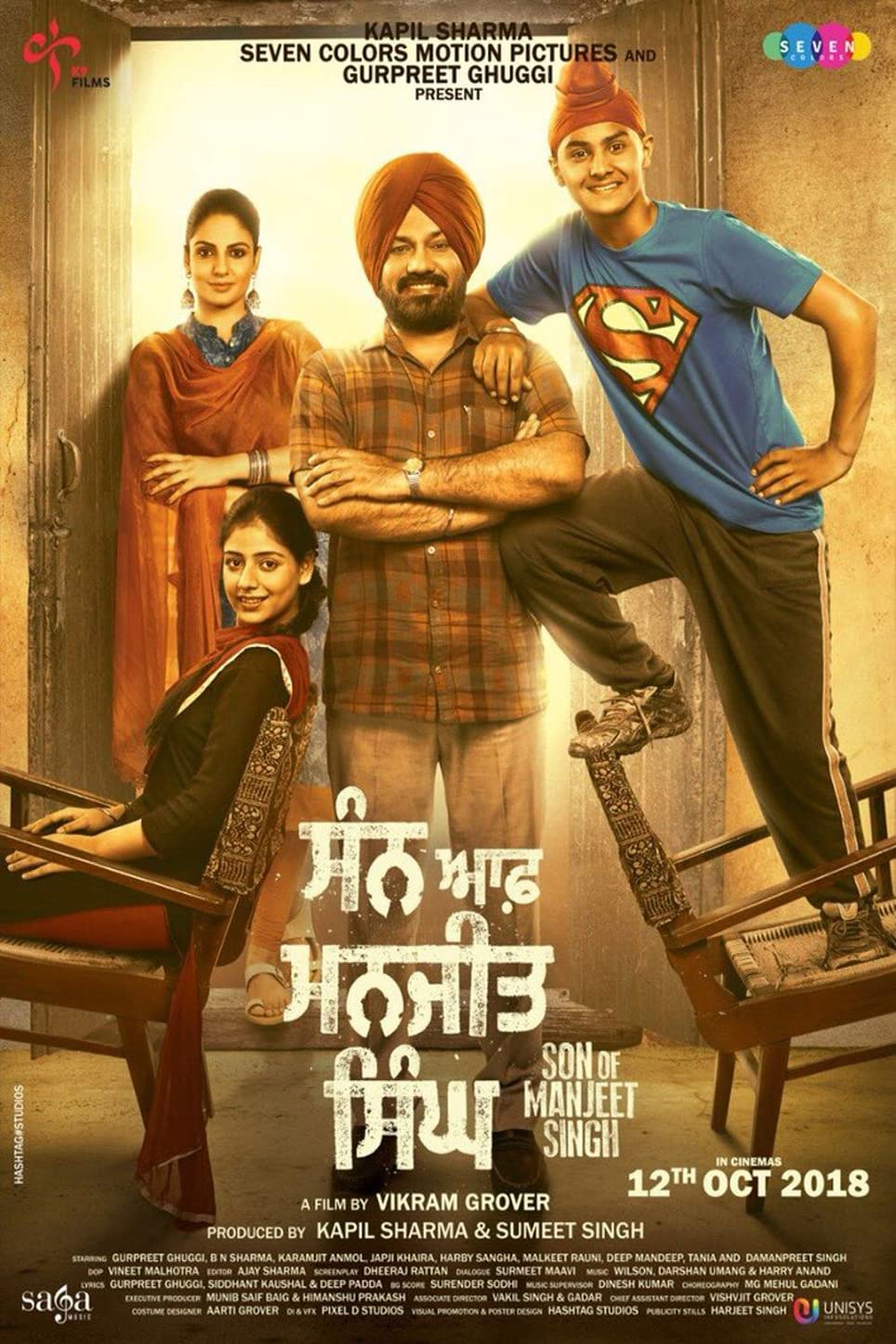 Son of Manjeet Singh 2019 Punjabi 720p HEVC HDRip x265 AAC ESubs Full Punjabi Movie [700MB]