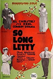 So Long Letty Poster