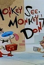 Monkey See, Monkey Don't/Fake Dad Poster