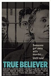 True Believer (1989) Poster - Movie Forum, Cast, Reviews