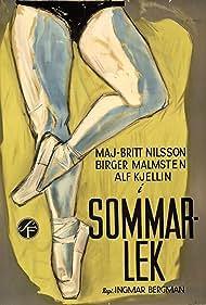Sommarlek (1954) Poster - Movie Forum, Cast, Reviews