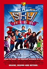 Kelly Preston, Kurt Russell, Michael Angarano, Mary Elizabeth Winstead, Danielle Panabaker, Steven Strait, and Kelly Vitz in Sky High (2005)